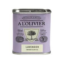 Lavender Infused Extra Virgin Olive Oil by A L'Olivier (150 ml), France