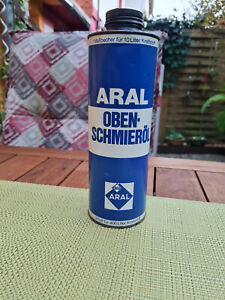 Alte Blechdose von ARAL  Obenschmieröl