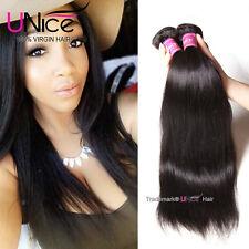 "Indian Straight Virgin Hair 3 Bundles 100% Human Hair Weaves 300g/lot 12""14""16"""
