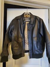 Vintage U.S Army.Airforce Dark Brown Flyers Leather Jacket