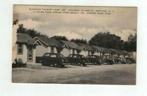 NJ Neptune New Jersey antique post card - Eldridge's Tourist Camp