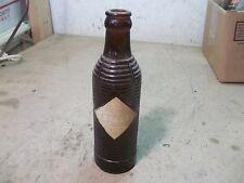 1 Old Soda Pop Bottle Brown 7 oz. Orange Crush