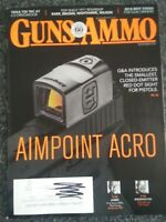 GUNS & AMMO Magazine November 2018 Aimpoint Acro, Top Shelf 1911, Tikka Tac