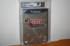 Legend of Zelda: The Wind Waker (Gamecube) NEW SEALED BLACK LABEL, MINT VGA 90!