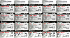 100 pcs 373 Energizer Watch Batteries SR916SW SR916 0% Hg