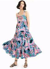 NWT J Crew Apron Maxi Dress in Ratti Kaleidoscope Floral Maxidress Sz 6 J.Crew
