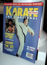 Bruce Lee - Karate and Fitness International Magazine - November 1990