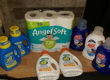 All and Ajax Laundry Detergent Bundle