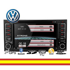 Radio de coche Xtrons VW Touareg Transporter GPS Bluetooth USB SD MP3 Mirror Lin