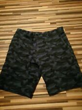 great mens size w30 SLATE & STONE NAVY ARMY CAMOUFLAGE SHORTS