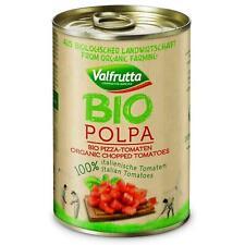 Valfrutta Bio Organic italien étamé haché tomates en jus de tomate 12 x 400 g