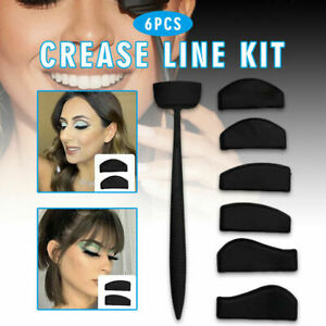 Crease Line Kit Set Eye Shadow Applicator Silicone Eyeshadow Stamp Makeup Tool