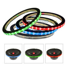 "4 Pack DS18 6.5"" Anillo de altavoz RGB LED Luz Impermeable Espaciador 1/2"" Lring 6"