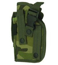MOLLE Woodland Camo Ambidextrous Gun Holster BB Air Pistol Hand Tactical 307C