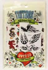 Boys Tattoos Bumper Pack 50 Temporary Stick On Removable Tattoo Gift Kids