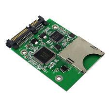 SD SDHC Secure Digital MMC Memory Card to 7+15P SATA Converter Adapter