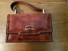 Vintage Leather Handbag made in Italy