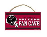 Atlanta Falcons Holzschild Türschild 25 cm,NFL Football,Fan Cave Wood Sign