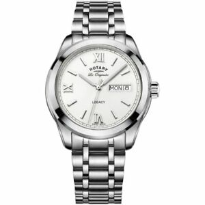 Rotary GB90173/06 Gent's Les Originales Legacy Day/Date Swiss Watch RRP £309.00