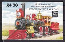 Postfrische Briefmarken aus Großbritannien mit Eisenbahn-Motiv