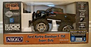RADIO CONTROL NIKKO FORD HARLEY DAVIDSON F-150 SUPER DUTY FULL FUNCTION  *NEW*