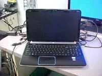 "HP Pavilion DV6T-6C00 15.6"" radeon, Core i7 2670qm 2.20GHz, 4gb Laptop AS IS #62"