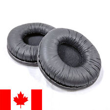 Pair of Ear Pads Cushions Covers for Sennheiser PX 100, PX 200, or PX 80 - Black