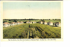Ste Foy, Quebec    Red Top Cabins   1920s