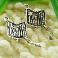 Free Ship 50 pieces tibetan silver tackle box pendant 30x14mm #1927