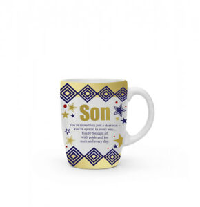 New boxed Son present gift fine china mug coffee cup Free P+P