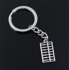 Abacus Slide Rule Calculator Key Ring Mathematics