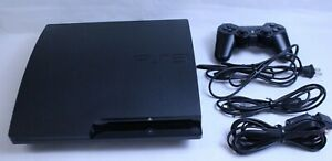 SONY Play station PS3 slim CECH-3000B HDD320GB JAPAN edition Black fedex