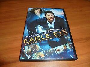 Eagle Eye (DVD, 2008 2-Disc Special Edition Widescreen)