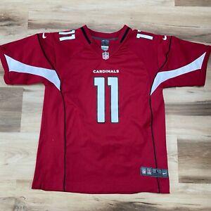 Larry Fitzgerald Nike On Field Youth Large (14/16) Jersey Arizona Cardinals #11