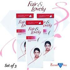 Fair & Lovely Moisturiser Advanced Skin Cream Brighten Appearance 50g x 3