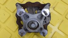 Can-Am DS450 right Front Spindle, Wheel Hub, Brake Caliper, & Disc