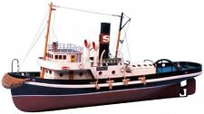 Saito R/C Boat 1/40 Hercules (Harbor Tagboat) Steam Boat Assembly Kit Full Set