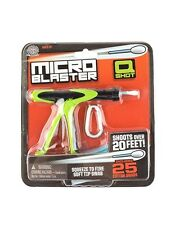 Micro Blaster Q Shot, cotton bud gun Toy pocket keyring, stocking filler gift