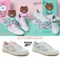 Line Friends x Reebok Revenge Plus Shoes Athletic Green Pink SZ4-13 Limited