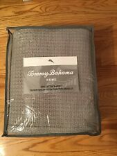 Tommy Bahama King Cotton Blanket Coast Pelican Grey