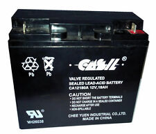 2 Pack Sealed Lead Acid Battery DR Power Field Mower 10483 104837 12V 17AH 18AH