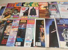 Lot of 16 Star Wars Insider + magazines & books 1977-1998 Empire Strikes Back
