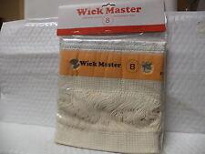 Wick Master #8 (without pins)  Kerosene Heater Wick..LOT OF 5.. New