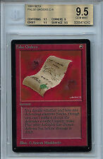 MTG Beta False Orders BGS 9.5 Gem Mint Magic The Gathering WOTC Amricons 4242