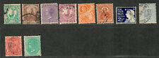 New South Wales Sc#109-119 M+U/H/F-VF, Complete Set, Cv. $143