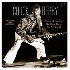 CHUCK BERRY - 3 ORIGINAL ALBUMS PLUS BONUS TRACKS  2 VINYL LP NEW!