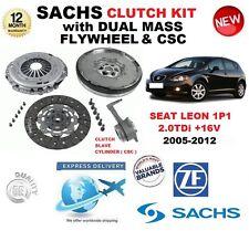 PER SEAT LEON 1P1 2.0 TDi + 16V KIT FRIZIONE 2005-2012 w Volano & CSC & BULLONI
