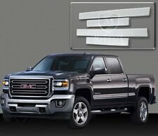 2014-2018 SILVERADO CREW CAB CHROME BODY SIDE MOLDING 4D STAINLESS STEEL