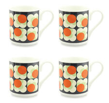 4 x Orla Kiely fleur point tasse - Orange
