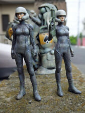 [free shipping](W_1993)1/20 Lieutenant Hanna (two type hand) Unpainted Resin Kit
